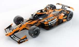 "McLaren divulga pintura ""tigre"" para Rosenqvist nas 500 Milhas de Indianápolis"