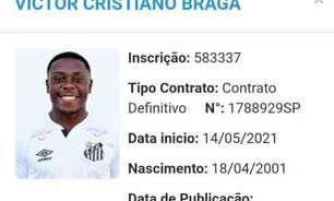 Primeiro reforço do Santos no BID após fim do transferban é sósia de Seedorf