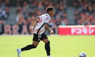 Responsável por 30% dos gols da equipe, Mateus Castro comemora boa fase no Nagoya Grampus