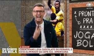 'Com o Dudu então, vai ser 8 a 0', desabafa Neto em uma sequência de ataques ao Corinthians após derrota