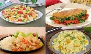 6 opções de pratos para uma semana mais saudável