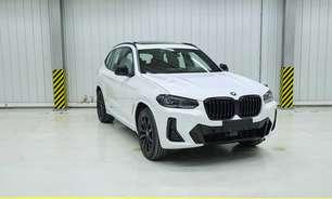 Novos BMW X3 e iX3 aparecem em fotos vazadas na China