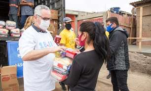 Campanha mobiliza centenas de pessoas contra a fome em São Paulo