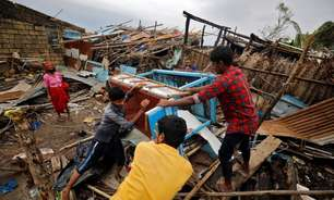 Marinha da Índia busca 80 desaparecidos no mar após ciclone devastador