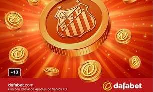 Santos anuncia parceria de patrocínio com site de apostas online