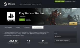 PlayStation deve lançar mais jogos para PC, indica Steam
