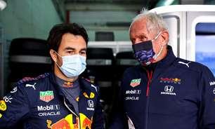 """Pérez se diz muito satisfeito com consultor da Red Bull: """"Sempre me diz o que pensa"""""""