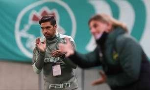 Mesmo derrotado, Abel Ferreira elogia competitividade do Palmeiras diante do Defensa y Justicia