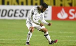 Lucas Braga culpa início ruim para derrota do Santos na Bolívia
