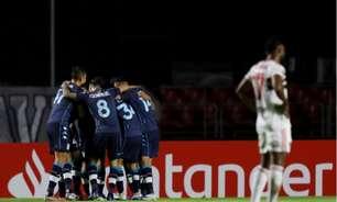 São Paulo cai para o Racing em casa e perde invencibilidade