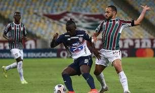 Fluminense joga mal, perde para o Junior Barranquilla e decidirá vaga na Libertadores contra o River Plate