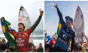 Gabriel Medina e Italo Ferreira garantem vaga nas oitavas da WSL