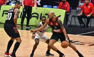 Em fim dramático, Flamengo vence segundo jogo e se aproxima do título do NBB
