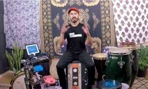 Daniel Puertorico disponiliza aulas de percussão grátis