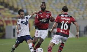 Flamengo empata com o Vélez, mas garante liderança do grupo