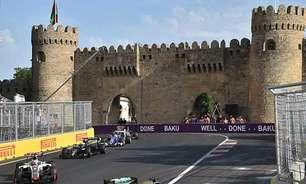 Guerra das asas inquieta a Fórmula 1 em Baku