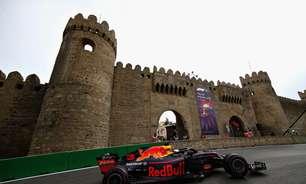 Red Bull vive dia de sonho no Azerbaijão