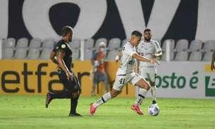 Guto Ferreira lamenta atuação ruim da defesa contra o Santos