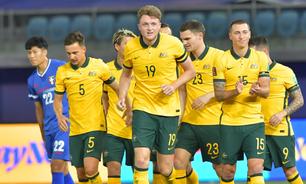 Austrália goleia Taipei Chinesa e segue 100% nas Eliminatórias Asiáticas