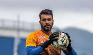 Experiente, goleiro Gledson prega cautela em jogo de volta pela Copa do Brasil
