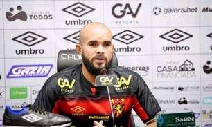 José Welison quer Sport focado em melhorar desempenho dentro de campo em busca de um bom ano