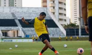 Éderson destaca classificação do ABC na Copa do Brasil contra a Chapecoense
