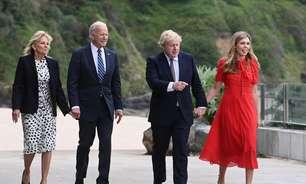 G7: Biden e Johnson são recebidos na Cornualha com canções