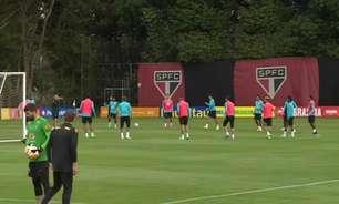 Seleção Brasileira realiza primeiro treino preparatório para a Copa América; veja como foi