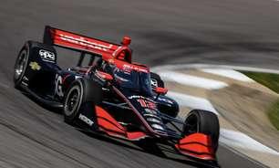Power bate Bourdais no final e lidera treino livre do GP de Detroit. Palou é 15º