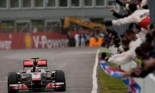 Na Garagem: Button supera temporal de Montreal e vence corrida mais longa da F1