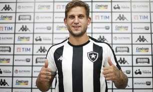 Rafael Moura é relacionado pelo Botafogo para o jogo contra o Remo