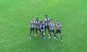 Botafogo bate Atlético-GO e vence a primeira no Brasileirão sub-17