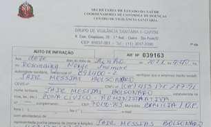 Doria multa Bolsonaro por andar sem máscara em 'motociata'