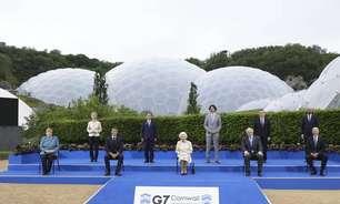 Líderes do G7 debatem plano histórico contra pandemias