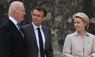Cúpula do G7: Biden quer formar aliança para combater influência global da China