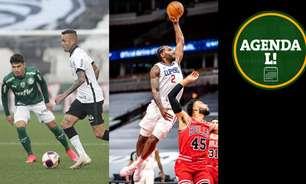 Dérbi no Brasileirão, Eurocopa, NBA e muito mais! Saiba onde assistir aos jogos de sábado