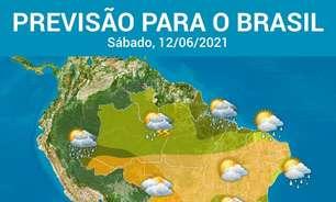 Ar frio de origem polar baixa a temperatura no Brasil