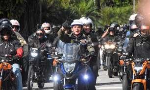Motociata de Bolsonaro custou R$ 1,2 milhão ao governo