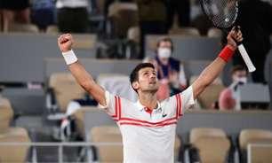 Tênis: SporTV transmite final de Roland Garros com Novak Djokovic
