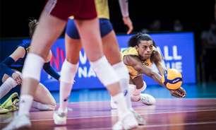 Brasil derrota a Polônia pela Liga das Nações de vôlei feminino