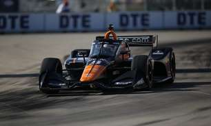 O'Ward bate Rossi e Grosjean e crava pole do GP de Detroit 1. Palou larga em último