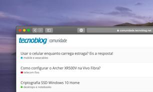 TB Comunidade #71: Windows, bateria do iPhone, Alexa e mais
