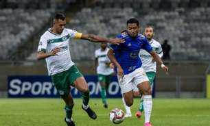 Cruzeiro sai atrás com gol contra bizarro, mas consegue o empate diante do Goiás no fim do jogo