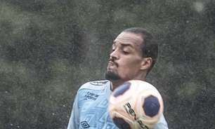 Luiz Felipe sente desconforto na coxa e pode desfalcar o Santos