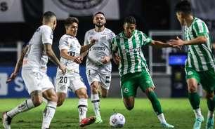 Santos joga mal e fica no empate contra o Juventude