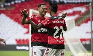 Flamengo domina, vence o América-MG e mantém 100% de aproveitamento no Brasileirão