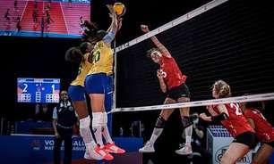 Brasil bate Alemanha, de virada, e soma nona vitória na Liga das Nações feminina