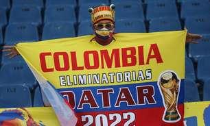 Colômbia é a 3ª seleção com testes positivos para covid-19