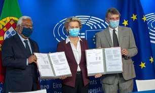 UE sanciona certificado anti-Covid para viagens