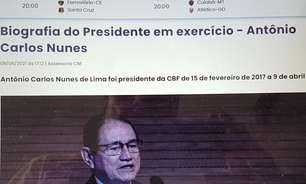 Site da CBF retira biografia do presidente Rogério Caboclo